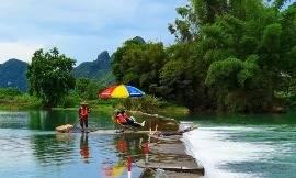 如果您厌倦了城市生活,那就来桂林体验一下自然风光吧!